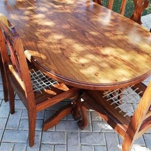 kiaat dining room furniture