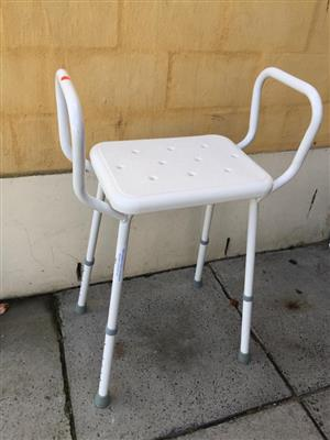Bathroom / Shower chair for post operation/elderly and infirm