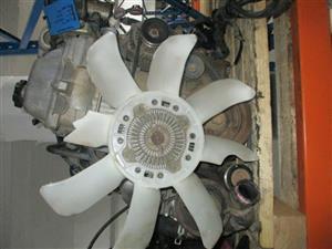 1999 TOYOTA LAND CRUISER S/W P GX Engine Complete