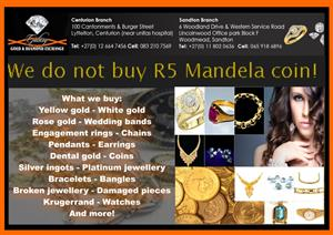 Sandton Galaxy Gold Top Buyers