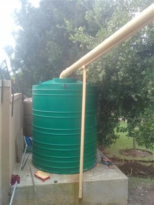 Borehole filtration systems,water back up systems,sewage systems,irrigation sytstems and instant lawn