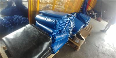QUALITY PVC TRUCK COVERS/TARPAULINS AND CARGO NETS FOR SUPERLINK AND TRI-AXLE