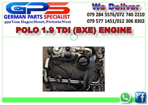 VW POLO 1.9 TDI (BXE) ENGINE FOR SALE