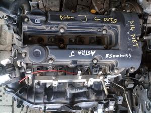 Opel Astra J A14NET engine for sale