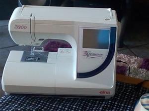 For sale Elna embroidery machine 8300