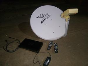 PVR, Dish, 2 remotes
