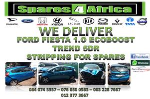 FORD FIESTA 1.0 ECOBOOST TREND 5DR STRIPPING FOR SPARES