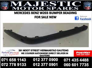 mercedes benz w203 bumper beading for sale