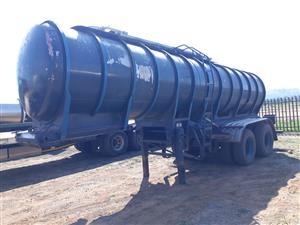 16000L Water Tanker double axle Trailer