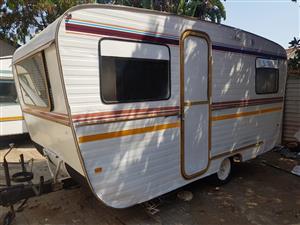 Jurgens Contractors caravan for living purpouses