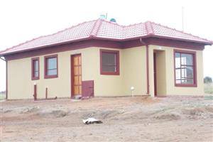 New houses in Soshanguve