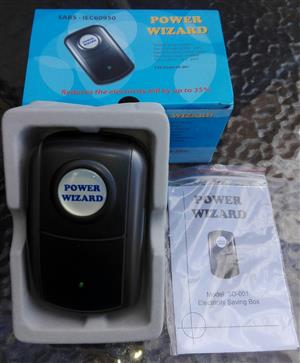 POWER WIZARD PREPAID ELECTRICITY POWER SAVER SURGE AND LIGHTNING PROTECTOR