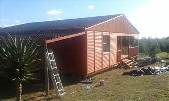 Log cabins on special prices