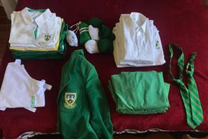 Stirling High School uniform.