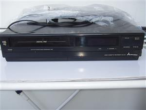 VCR - Mitsubishi video machine - in excellent working order
