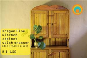 Oregan pine kitchen cabinet welsh dresser