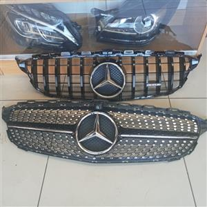 Used/Second hand Mercedes Benz spare parts