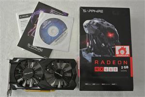 Sapphire Radeon RX 460 Graphics Card Like New