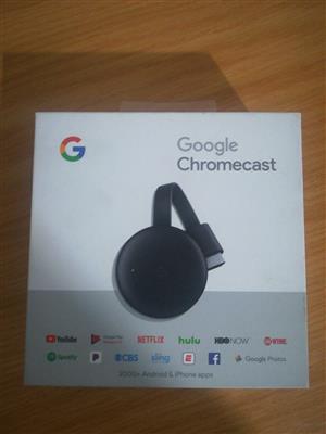 Google Chrome cast @R600