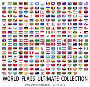 Flags for sale various sizes and countries flags available. Buy for R500 and get FREE SHIPPING  $$$$$
