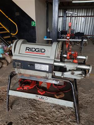 Ridgid 1224 threading machine for sale