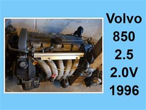 Volvo 850 2.5 - 2.oV 1996 engine for sale.