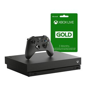 Xbox One X 1TB Console + 3 Months Live (Xbox One)