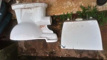 Toilet Seat and Cistern