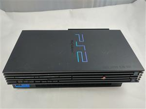 Fat PS2 Console [w/ FHDB Mod, 120GB HDD, Network Port, Controller & Cables] Sony