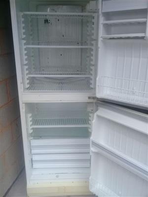 Fridge with freezer