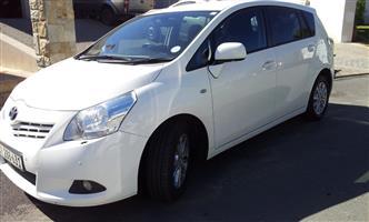 2010 Toyota Verso 2.0D 4D TX