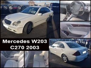 Mercedes W203 C270 2003 stripping for spares.