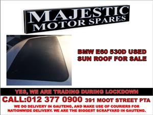 Bmw 530d used sunroof for sale