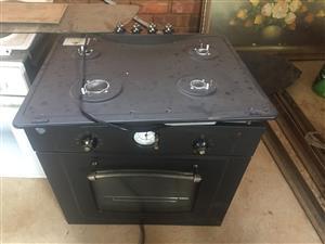 Gas stove hob  + oven
