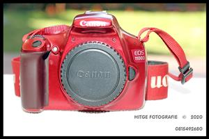 Canon EOS 1100D - Body Only (SPECIAL LIMITED RED EDITION)