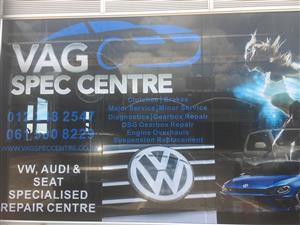 Volkswagen Specialist Repair Centre - RMI Accredited