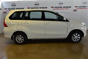 2018 Toyota Avanza 1.5 SX auto
