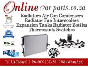 High Quality Radiators Air Con Condensers Radiator Fans Intercoolers Expansion Tanks Radiator Bottles Thermostat Switches