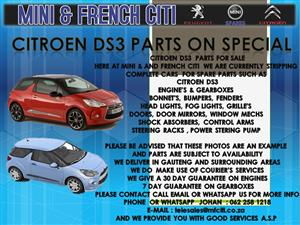 USED PARTS FOR SALE ON CITROEN DS3
