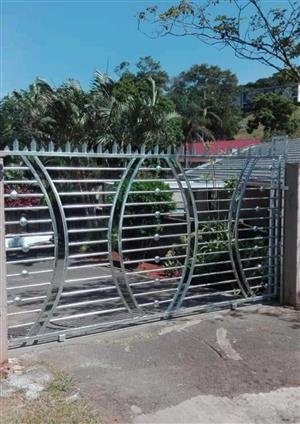 Bargain 3m x 1.8 hot dip galvanized Designer Gate