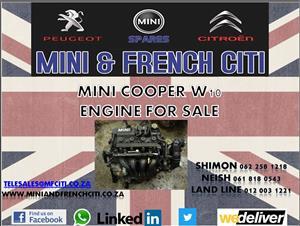 Mini Cooper W10 Engine for sale