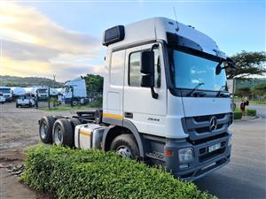 2012 MERCEDES BENZ ACTROS 2644 MP3 T/T