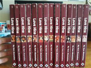 Complete manga volumes of Love Hina