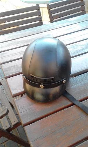 Selling this biker helmet