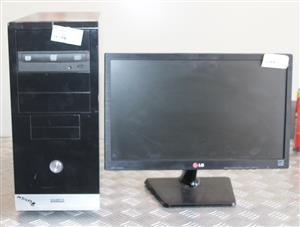 Complete PC I5 Gigabyte tower with Samsung monitor, keyboard and mouse S031478B #Rosettenvillepawnshop