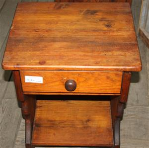 Brown pedestal with drawers S037275C #Rosettenvillepawnshop