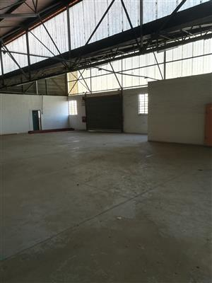 2607m2 factory to let in Isando
