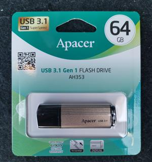 Apacer usb3.1 64gb flash drives
