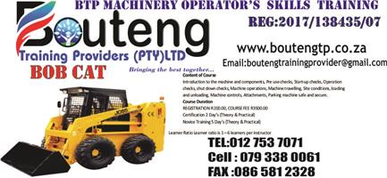 OPERATE A TRACTOR LOADER BACKHOE-TLB