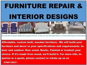 furniture repair]